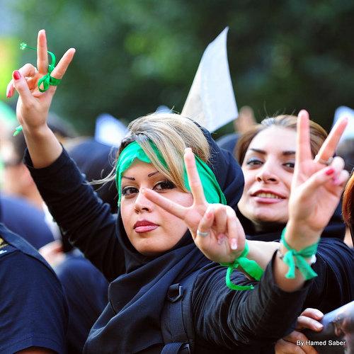 نتیجه تصویری برای زنان سبز